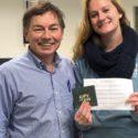 Congratulations to Connie Reznik, Winner of this Semester's Advising Raffle!